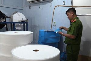 Xử lý cơ sở sản xuất khẩu trang y tế không đủ tiêu chuẩn