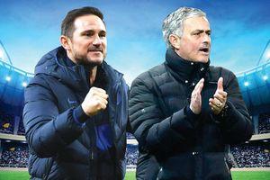 Chelsea vs Tottenham: Mourinho hết bài, Lampard lại bay cao