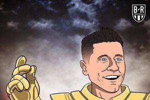 Ảnh chế: Robert Lewandowski hóa Thanos giải cứu màn tấu hài của siêu hậu vệ Manuel Neuer