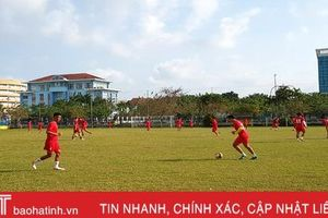 Trụ hạng V.League, mục tiêu của Hồng Lĩnh Hà Tĩnh