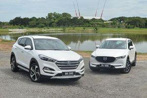 So sánh Mazda CX-5 với Hyundai Tucson: Chọn mua crossover 5 chỗ nào?