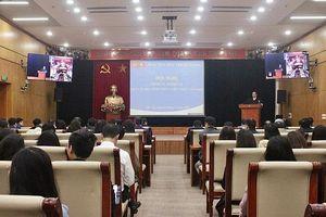 Hội nghị trực tuyến tập huấn nghiệp vụ cán bộ, công chức, viên chức Ban Tổ chức Trung ương