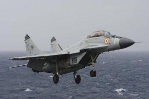 Tiêm kích đa năng MiG-29K rơi tại Ấn Độ