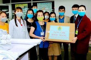 Hỗ trợ công nhân phòng chống dịch