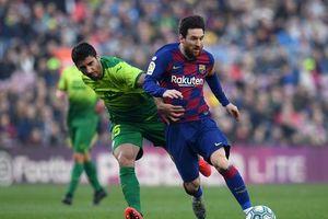 Messi lập cú 'poker', hậu vệ Eibar lắc đầu chua chát