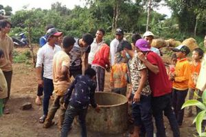 Chuyện lạ: Giếng nước đột nhiên sôi ở Gia Lai