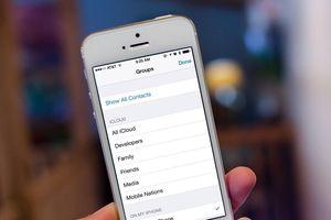 5 cách khắc phục lỗi iPhone bị mất danh bạ