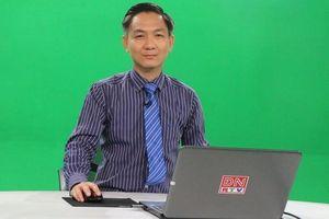 Học sinh cuối cấp có thể ôn tập qua bài giảng phát sóng trên truyền hình