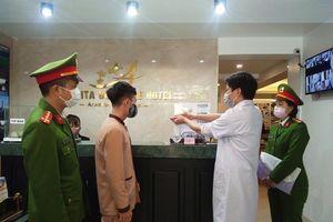 Tổng kiểm tra cơ sở lưu trú tại khu vực trung tâm Hà Nội phòng dịch Covid-19