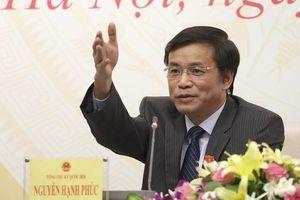 'Cơ cấu thành viên Bộ Chính trị, Chính phủ trong Quốc hội sẽ giảm'