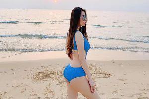 Quế Vân đăng ảnh bikini mừng sinh nhật tuổi 38