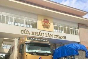 700 xe nông sản đang ùn tại cửa khẩu