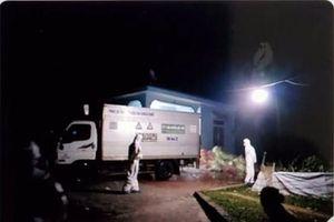 Sóc Sơn: Tiêu hủy hơn 600kg chất thải gồm khẩu trang y tế, găng tay, mũ