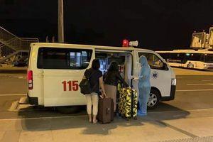 Đang đón 80 người từ Hàn Quốc về Đà Nẵng
