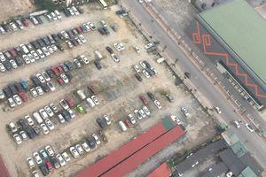 'Bát nháo' nạn trông giữ xe không phép, sai phép tại quận Hoàng Mai