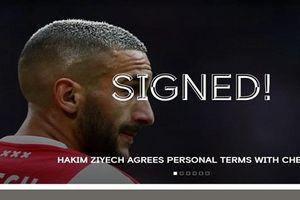 Hakim Ziyech đạt thỏa thuận với Chelsea