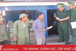 Tăng cường cán bộ biên phòng tham gia cấp ủy cơ sở ở Hà Tĩnh