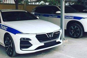 Xe VinFast Lux được trang bị cho lực lượng CSGT?