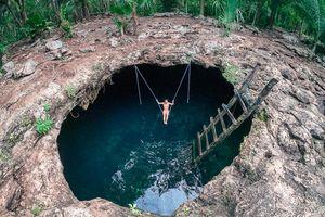Loạt hố bơi tự nhiên ẩn dưới lòng đất ở Mexico