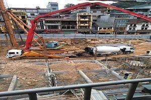 Trạm trộn bê tông của Công ty Hòa An Phát hoạt động 'lờ' pháp luật?