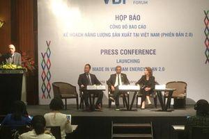 Công bố Kế hoạch năng lượng sản xuất tại Việt Nam 2.0
