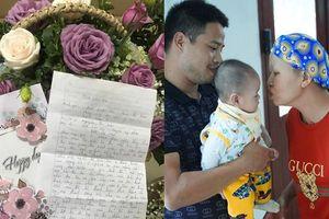 Xúc động lá thư mẹ bé Bình An gửi lời cảm ơn bác sĩ nhân ngày Thầy thuốc Việt Nam