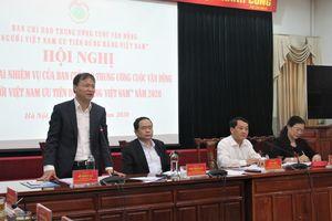 Ban Chỉ đạo Trung ương Cuộc vận động 'Người Việt Nam ưu tiên dùng hàng Việt Nam' họp triển khai nhiệm vụ trong tình hình mới