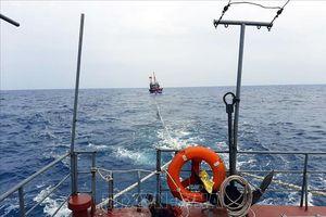 Hai tàu cá của ngư dân Quảng Nam gặp nạn trên biển