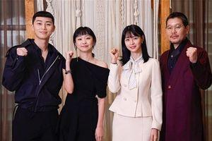 Park Seo Joon và Kim Da Mi rạng rỡ tại họp báo phim 'Tầng lớp Itaewon' (Itaewon Class)