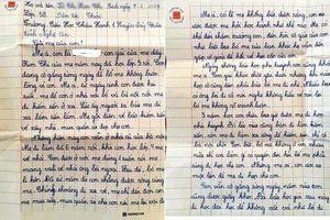 Bức thư bé gái lớp 5 gửi mẹ đi lấy chồng khiến nhiều người xót xa