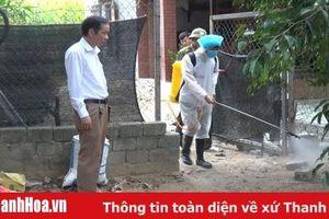 Huyện Tĩnh Gia triển khai các biện pháp cấp bách chống dịch cúm A/H5N6