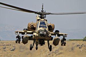 'Trực thăng Israel tấn công các vị trí quân đội Syria ở tỉnh Quneitra'