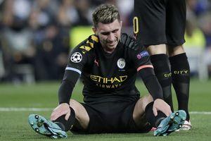 Man City mất trung vệ giỏi nhất trước trận đối đầu Real