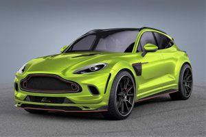 Siêu SUV Aston Martin DBX biến hình với gói độ từ Lumma Design