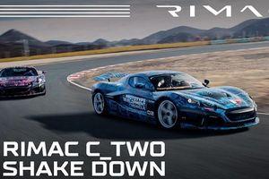 Siêu xe Rimac C_Two hơn 57 tỷ đồng của Croatia sắp ra mắt