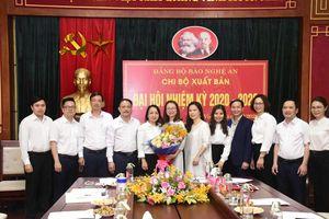 Chi bộ Xuất bản Báo Nghệ An tổ chức Đại hội nhiệm kỳ 2020 - 2022