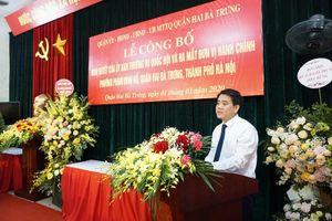 Chủ tịch UBND TP Nguyễn Đức Chung: Các phường mới tạo thuận lợi nhất cho người dân trong giao dịch hành chính