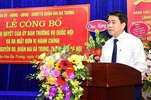 Lễ công bố đơn vị hành chính phường Nguyễn Du và phường Phạm Đình Hổ