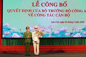 Bộ Công an bổ nhiệm Giám đốc Công an tỉnh Lào Cai