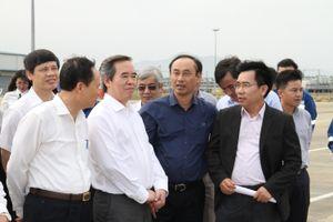 Trưởng Ban Kinh tế Trung ương Nguyễn Văn Bình thăm Liên hợp Lọc hóa dầu Nghi Sơn