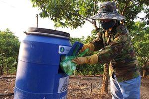 Nhân rộng Chương trình 'Cùng nông dân bảo vệ môi trường'