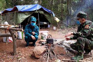 Hình ảnh lực lượng Biên phòng Lạng Sơn trên tuyến đầu chống dịch Covid- 19