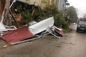 Mưa đá, dông lốc và lũ quét gây nhiều thiệt hại tại tỉnh Sơn La