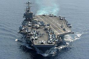 Tàu sân bay Mỹ phát hiện, chống thợ lặn đặc nhiệm bằng cách nào?