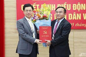 Tân Trưởng ban Dân vận Tỉnh ủy Nghệ An