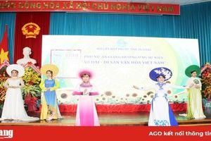 Hội Liên hiệp Phụ nữ An Giang phát động tuần lễ 'Áo dài-Di sản văn hóa của người Việt Nam'