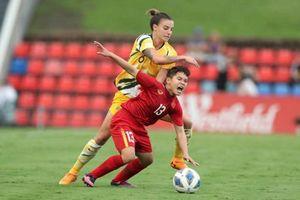 Thua kém đẳng cấp, ĐT nữ Việt Nam thua đậm Australia