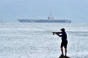 Báo Trung Quốc bình luận chuyến thăm Việt Nam của tàu sân bay Mỹ