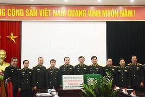 Trao 15.000 khẩu trang vải kháng khuẩn tặng lực lượng Bộ đội Biên phòng