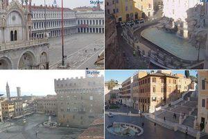 Các điểm nổi tiếng Italia vắng tanh giữa lệnh phong tỏa do Covid-19